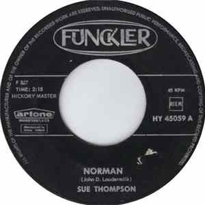 Sue Thompson - Norman / Never Love Again mp3