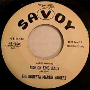 The Roberta Martin Singers - Grace / Ride On King Jesus mp3