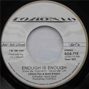 Toronto - Enough Is Enough / Master Of Disguise mp3