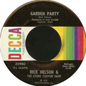 Rick Nelson & The Stone Canyon Band - Garden Party mp3