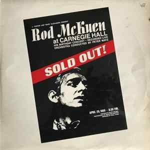 Rod McKuen - At Carnegie Hall mp3